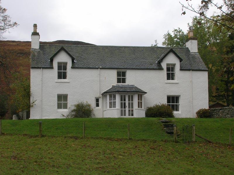 South side of lodge before refurbishment