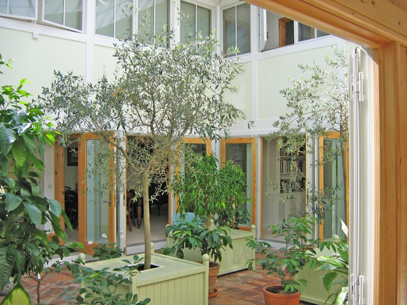 10 Courtyard garden room