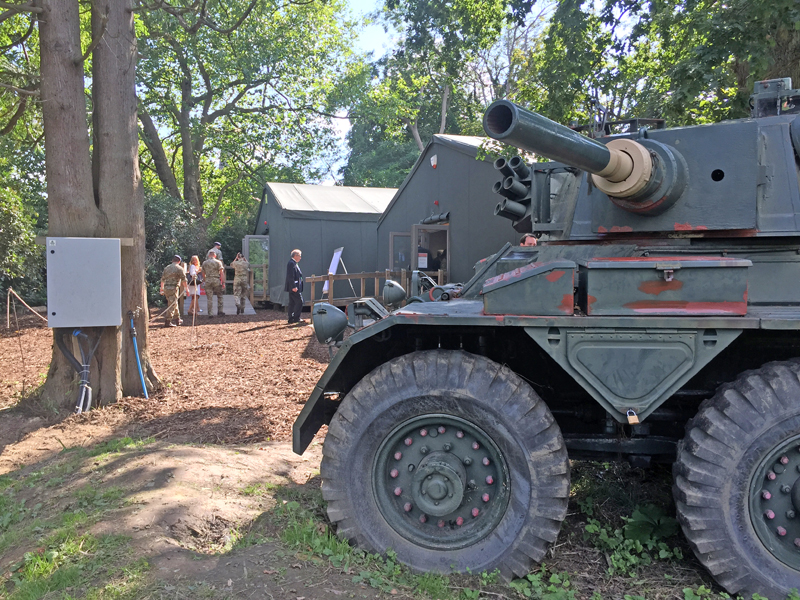 Hever Castle Military Museum