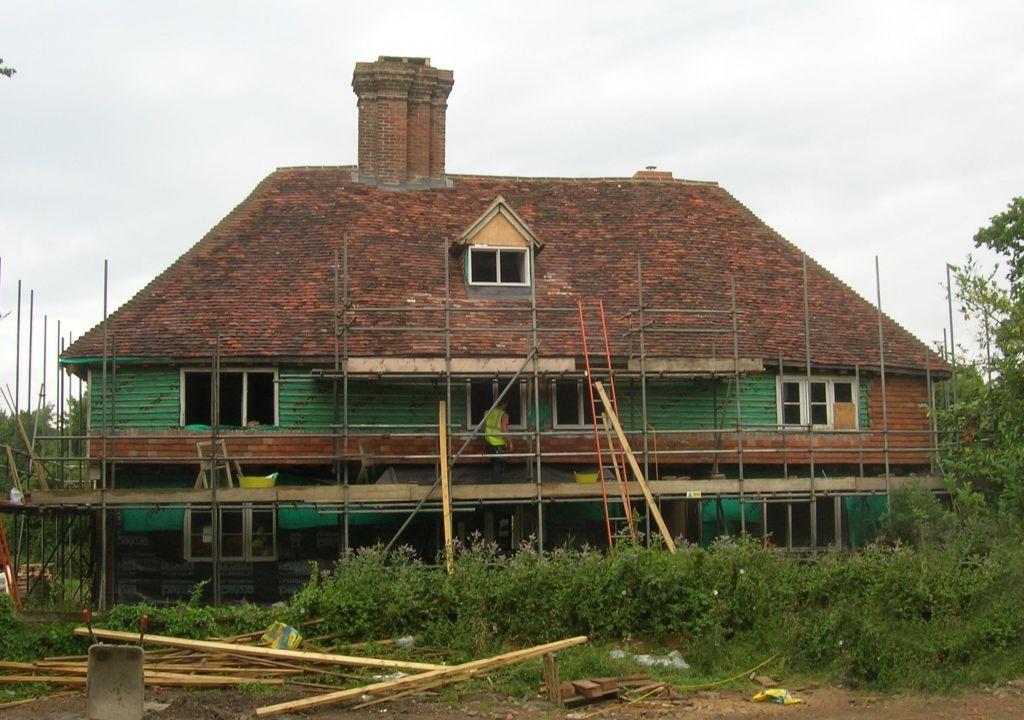 Farmhouse during