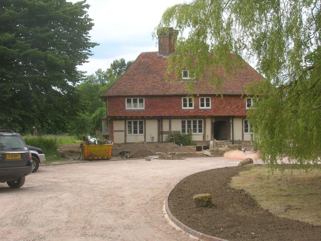 Farmhouse after