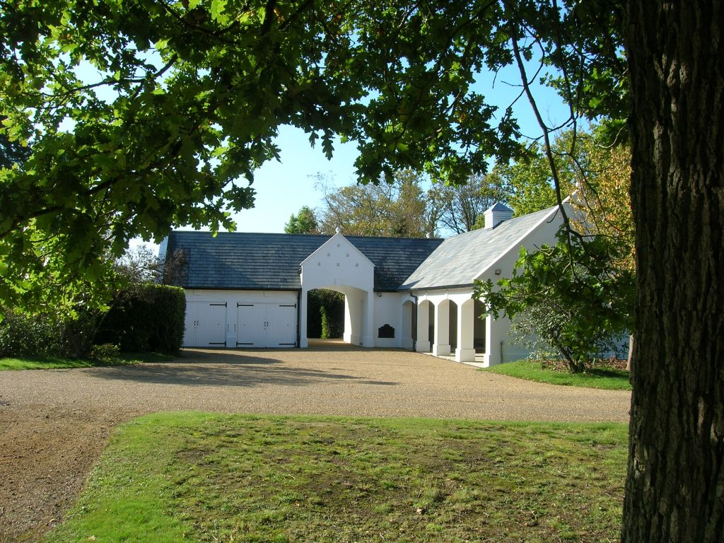 New outbuilding