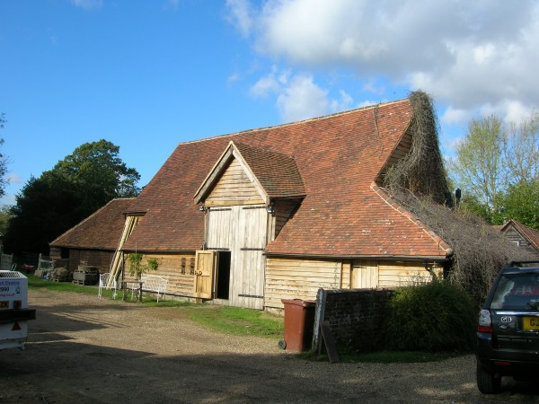 After conversion to party barn