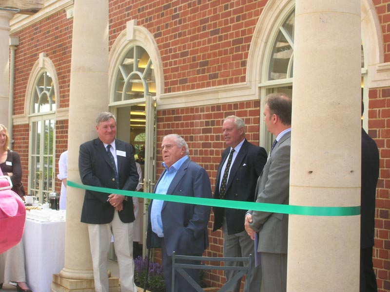 Albert Roux opens the Guthrie Pavilion
