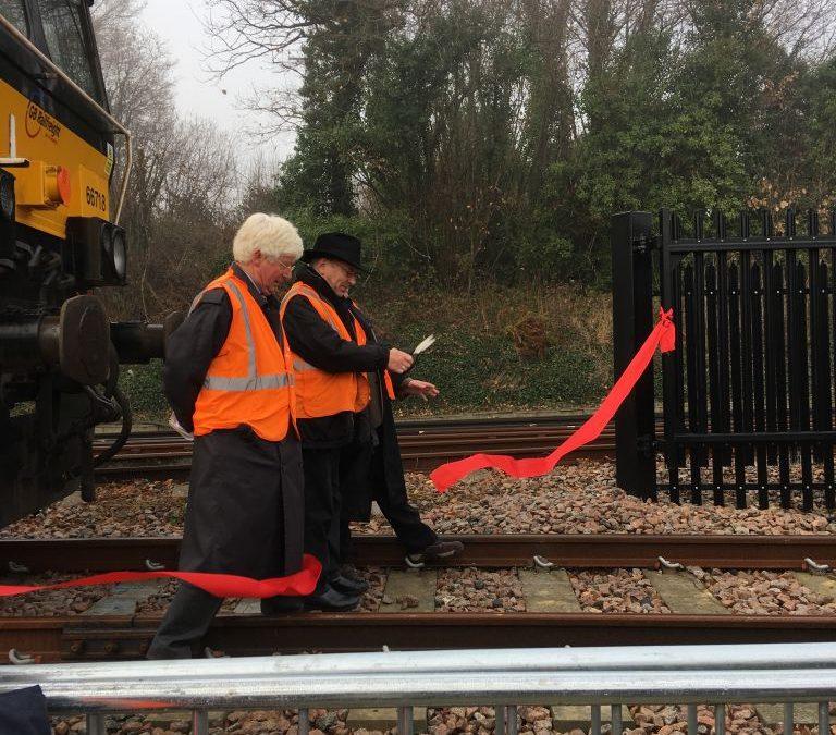 Robertsbridge Junction opening