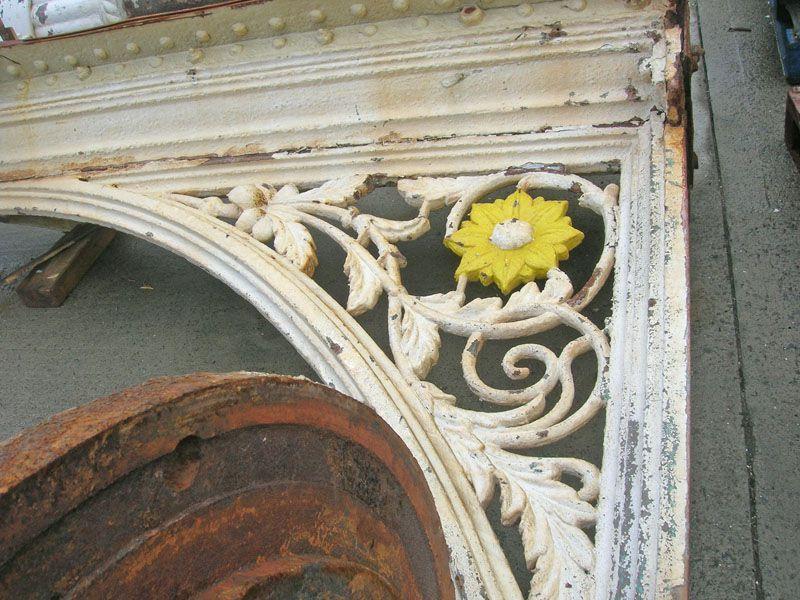 Fine iron work details