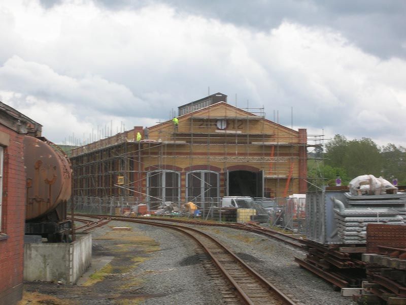 New engine shed
