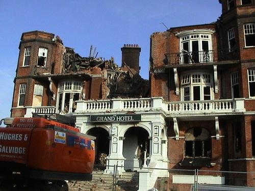 Former Grand Hotel