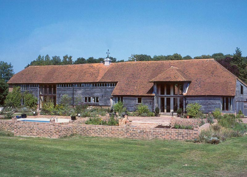 Conversion of redundant barn
